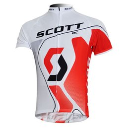 scott cycle shirts 2019 - 2019 Mens SCOTT Team Cycling Jersey Bicycle Shirt Breathable short sleeve sports uniform Road Bike Clothing ropa ciclism