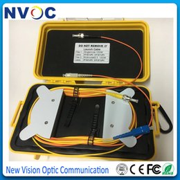 Fiber Led NZ - MM,62.5 125,1KM+SM,G652D,1KM,SC UPC on O P Lead,ST UPC on I P Lead,Fiber Optical OTDR Launch Test Box