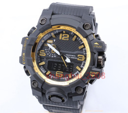 Wholesale New style Fashon men s sports watches Display LED Fashion army military shocking watches men Casual Watches