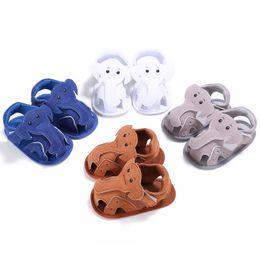 $enCountryForm.capitalKeyWord NZ - 2018 Summer Shoes Cotton Sandals Summer Cute Elephant Shoes for Kids Baby Girls Boys Unisex 12 13 11 Size SH014