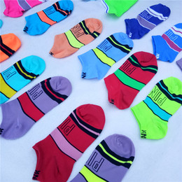 $enCountryForm.capitalKeyWord NZ - Love Pink Boys Girls Adult Short Socks Men Women Football Cheerleaders Basketball Outdoors Sports Ankle Socks Free Size 2019 New Arrival