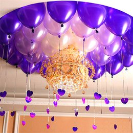 Balloon Supplies Tiffany 50pcs Lot 10 Inch 21 Colors Pearl Latex Balloons Inflatable Wedding Birthday Party Decoration