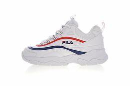 Ingrosso 2018 Original white Shoes FILA II 2 Donna uomo FILE sports sneaker sezione speciale Retro scarpe da corsa aumentate scarpe 36-44
