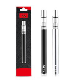 5S Desechables Vape Pen 320mah Batería C1 C2 0.3ml 0.5ml Cerámica Bobina de vidrio desechable E Cigarrillo