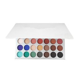 Colorful Makeup Palettes UK - EPACK Dropshipping MISS ROSE Professional Colorful Palette 55 Color High Gloss Eyeshadow Palette Matte Shimmer Naked Eye Shadow Makeup For W