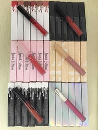 Venta al por mayor de Nuevo maquillaje Cosmética Envíame más Desnudos MATTE líquido Lápiz labial Vacaciones de maquillaje Edición de cumpleaños Brillo de labios 12 colores = 1 juego