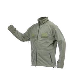 70658988aae Khaki Tactical Jacket UK - Military Style Men s Winter Outdoor Thermal Lightweight  Breathable Khaki Faux Fleece