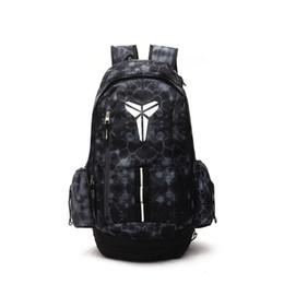 Новый Кобе баскетбол рюкзаки Спорт рюкзак человек рюкзак большой емкости обучение женщин дорожные сумки школьные сумки обувь сумка на Распродаже