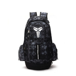 Unisex Backpack School Bag UK - Brand New KOBE Basketball Backpacks Sport Backpack Man Backpack Large Capacity Training Women Travel Bags School Bag Shoes Bag