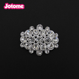 Wholesale 10pcs mm rhinestone Crystal Flat back Button For Wedding Invitation card