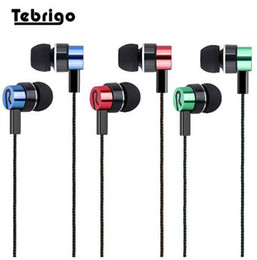 Universal Wire Cloth Australia - 3.5mm In-ear Earphone Universal Noise Isolating Stereo Sport Earbuds Reflective Fiber Cloth Line Earphones for Mobile Phone MP3