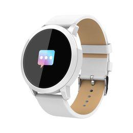 $enCountryForm.capitalKeyWord Australia - Smart Watches Newest Hot wear Q8 Stainless Steel Waterproof Wearable Device High Quality Smartwatch