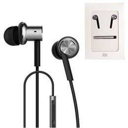 Chinese  E-MI High Quality Xiaomi Hybrid Earphone 2 Units In-Ear HiFi Earphone Xiaomi Mi 1 more Piston Headphones with Mic Remote With Retail Package manufacturers