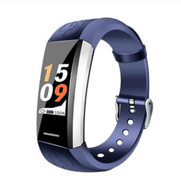 "Camera V1 Australia - V1 0,96 ""Color LCD pulsera deporte Bluetooth presión arterial Monitor de frecuencia cardíaca IP67 impermeable Fitness Wristband"