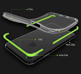 Hot Sales Iphone Case NZ - Hot Sale Creative Non-slip Anti-Fall Protection Full Coverage Soft TPU TPE Cover Case For iPhone X 8 7 Plus 6 6S