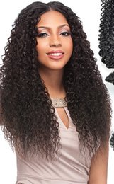 $enCountryForm.capitalKeyWord Australia - 2018 6a 100% unprocessed remy virgin human hair natural color long afro curly full lace wig for women