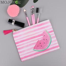 Mode Frauen Mini Brieftasche Vielseitige Handtasche Mode Quaste Make-Up Streifen Strand Reißverschluss Cartoon Print Handy Taschen Kartenhalter