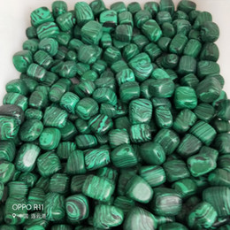 Wholesale 1 lb Bulk Tumbled Malachite Stones from Africa Natural Polished Gemstone Supplies for Wicca Reiki and Energy Crystal HealingWholesale