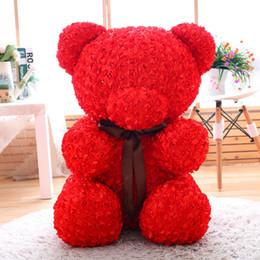 60 см unstuffed пустая Роза медведь плюшевый мишка мягкая игрушка шкуры оболочки пальто животных дешевые Pirce подруги подарки