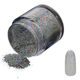 Glitter Tips UK - 10g Laser Fine Glitter Powder DIY Nail Art Manicure Tips Pigment Decoration