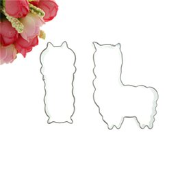 $enCountryForm.capitalKeyWord UK - 1Pc Cake Fondant Decorating Biscuit Dessert Molds Baking Tools Stainless Steel Alpaca Blankly Mud Horse Cookie Cutter