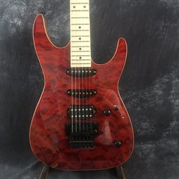 $enCountryForm.capitalKeyWord NZ - Factory Shop Red Classic Black Accessories Maple Neck 6 String Black Hardware Electric Guitar. free shipping