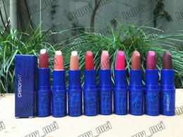 $enCountryForm.capitalKeyWord NZ - Free Shipping ePacket Hot Brand New Makeup Lips Chromat Glaze Lipstick Matte Lipstick!8 Different Colors