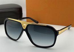 Shiny aluminum online shopping - top quality hot men brand designer sunglasses millionaire evidence sunglasses retro vintage shiny gold summer style Z0350W