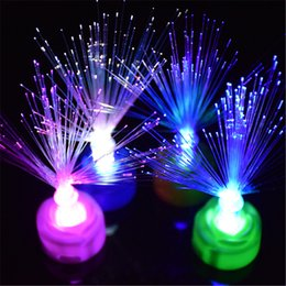 moon toys 2019 - All over the sky star optical fiber flower colorful flash optical fiber flower glow nightlight toy stalls selling toys c