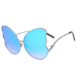 shades for boys 2019 - Fashion UV400 Metal Frame Women Butterfly Sunglasses 2018 Retro Sun Glasses Shades for Women Oculos de Sol Feminino chea