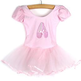 Girls Dancewear Costumes NZ - Girls Kids Baby Dance Dress Candy Color Tutu Dress Dance Costumes Ballet Dancewear 3-7Y Baby Clothes YRD