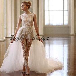 Discount White Lace Wedding Jumpsuit White Lace Wedding Jumpsuit