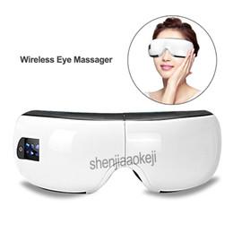 Discount anti wrinkle eye massage - Portable Wireless Eye Massager Air Compression Eye Massage with Bluetooth Music Smart Vibrating Massagers Anti-Wrinkles