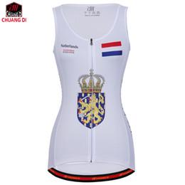 $enCountryForm.capitalKeyWord Canada - Netherlands Women Vest Sport Sleeveless Clothes Running Shirt Mesh Fabric Bike MTB Road Breathable Sportswear Top Cycling Vest