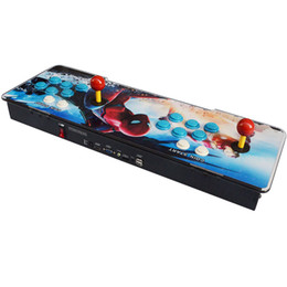 Joystick for arcade games online shopping - 2019 New Style S Pandora Box Arcade Joystick Video Game Console Designed With Funny Games And Two Joysticks For Amusement