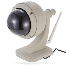 Wireless Dome Cctv Cameras UK - Wanscam new model HW0038 P2P theft proof Day Night View Pan tilt outdoor Dome Mini Wifi ip cctv ir vandal proof camera