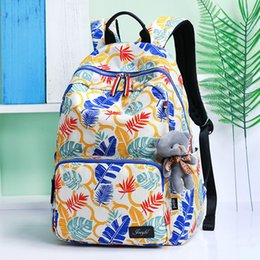 85ce6a95a990 Fashion School Backpacks for Teenage Girls Canvas Women Laptop Back Pack  Female Cute Japan and Korean Style Backpack Travel Bags