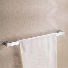 $enCountryForm.capitalKeyWord Australia - 23.6-Inch Chrome Bath Room Single Towel Racks Luxury Brass Hanger Holder Decor Bathroom Accessories Towel Bars with Wall Mounted