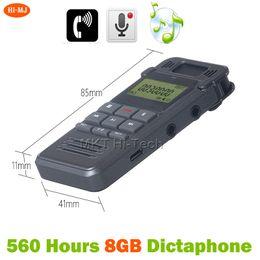 Gravador Audio Australia - Phone-call Recording 560hours VOX 8GB Dictaphone USB Flash Digital Audio Voice Recorder gravador de voz Professional