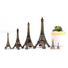 paris room decorations 2019 - 1pc Hot Sell Crafts Paris Eiffel Tower Model Creative Home Furnishing Ornaments Kids Gifts DIY Desk Decoration Accessori