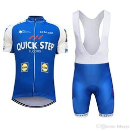 QUICK STEP team Cycling Short Sleeves jersey (bib) shorts sets new summer  quick-dry Men Racing Mountain Sportwear Ropa Ciclismo C1718 5e967dce9
