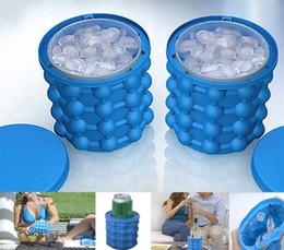 $enCountryForm.capitalKeyWord NZ - Outdoors Silicone Ice Cube Maker Genie The Space Saving Genie Bar Ice Genie Kitchen Tools Ice Buckets Fast Shipping