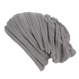 $enCountryForm.capitalKeyWord NZ - snowsong#4003 Men Women Baggy Warm Crochet Winter Wool Knit Ski Beanie Skull Slouchy Caps Hat