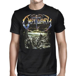 8942ed22e21 Obituary The End Complete Album Death Metal Shirt 2018 Fashion Short Sleeve  Funny Clothing Casual Short Sleeve T shirts