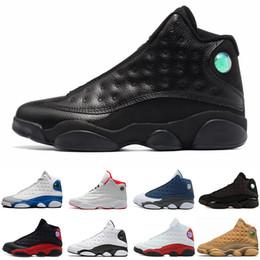 Green Plastic Army Men Canada - New 13 Alititude Green men basketball shoes Phantom black cat Chicago bred Melo Class of 2003 Hyper Royal sports sneaker size 8-13
