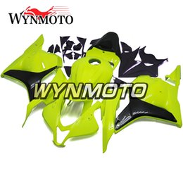 Honda F5 Canada - Yellow Grey Fairings For Honda CBR600RR F5 2009 2012 Year 09 10 11 12 Injection Body Kits Motorcycle Fairing Bodywork Carenes