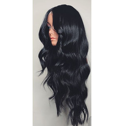 for good hair 2018 - Good quality 100% unprocessed remy virgin human hair long natural color natural wave full lace cap wig for women cheap f