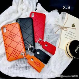 H Case Australia - Case for iphoneX 7 8 plus Signature H phone case for apple iphone6 6S plus brand with Pendant
