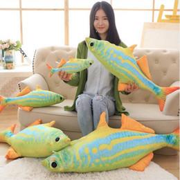 $enCountryForm.capitalKeyWord Canada - Dorimytrader Big Soft Colorful Tropical Fish Plush Pillow Stuffed Animal Sea Fish Toy Cartoon Doll Kids Gift Decoration 120cm DY50010