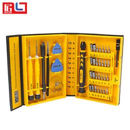 Bestsin 38 en 1 Profesión Kit de herramientas de reparación Teléfono móvil Destornillador Herramienta de reparación de precisión para Iphone X Celular